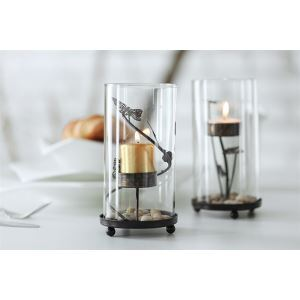 Contemporary Zen Glass Meta Candleholder (Sold Separately)