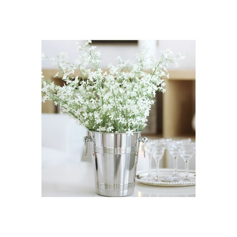 Home Decor Floral Arrangements Gypsophila Silk Flowers