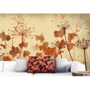 Contemporary Dandelion Non-Woven Paper Mural