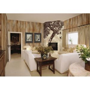Contemporary Original Wood Non-Woven Paper Wall Paper