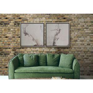 Contemporary Classic Brick Wall Non-Woven Paper Wall Paper