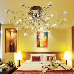 Modern Crystal chandelier with 11 Light