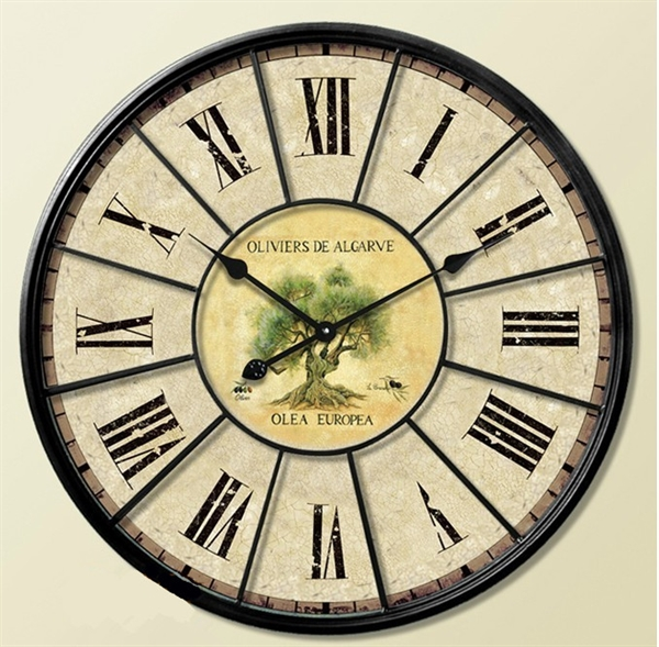 Home Decor Decorative Clocks Mediterranean Wall Clock