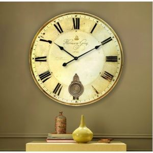 Euro Country Style Wall Clock Large Size Featured
