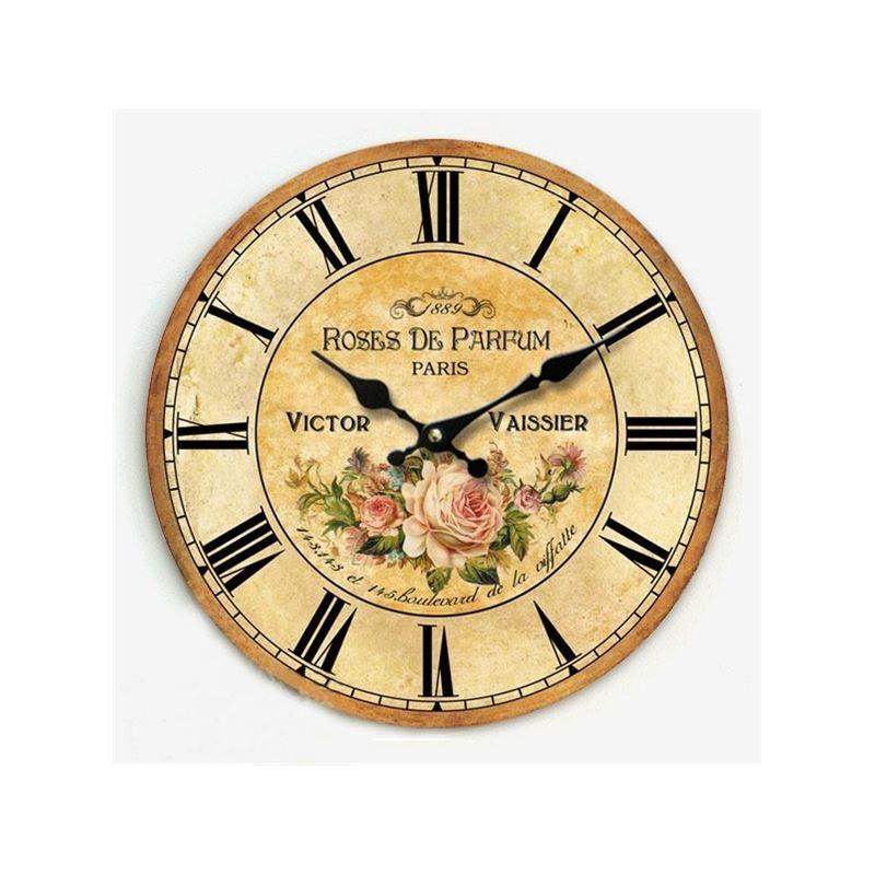 Home decor decorative clocks country style wall clock - Country style wall clocks ...