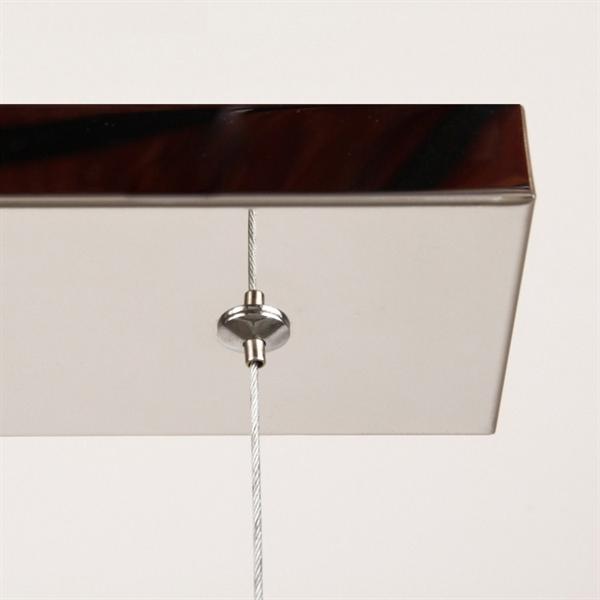 Modern Crystal Rectangular Chandelier Pendant Light 5