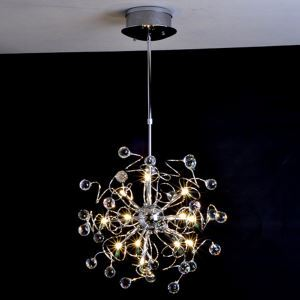 Artistic Crystal pendant Light with 15 Lights