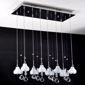 K9 Crystal Mini Chandelier with 8 Lights