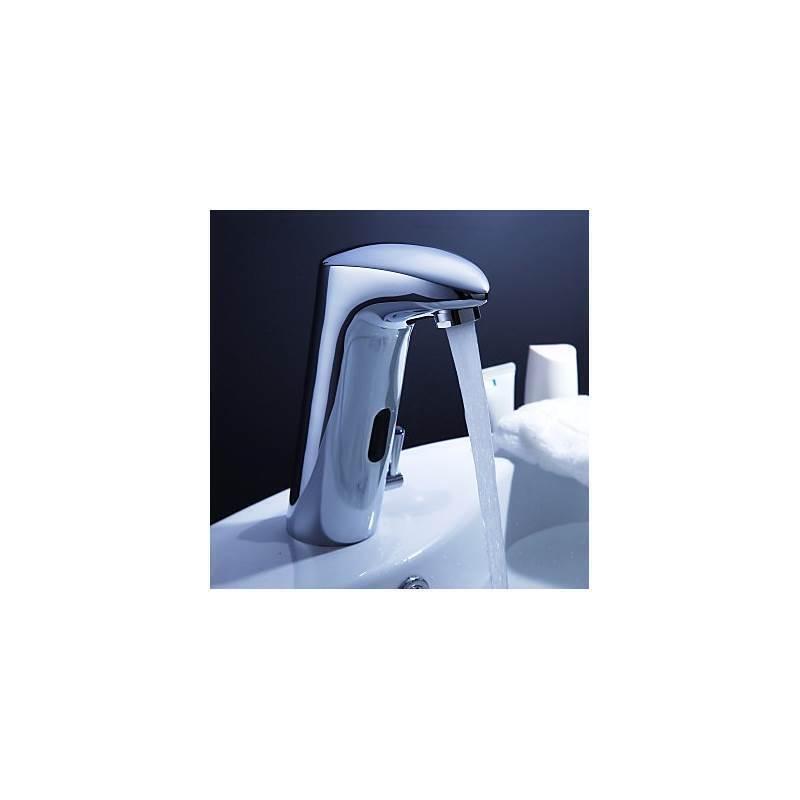 Brass Bathroom Sink Faucet With Automatic Sensor - Sink Ideas