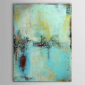 Hand Painted Oil Painting Abstract 1303-AB0356