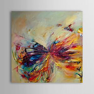 Hand Painted Oil Painting Abstract 1305-AB0598