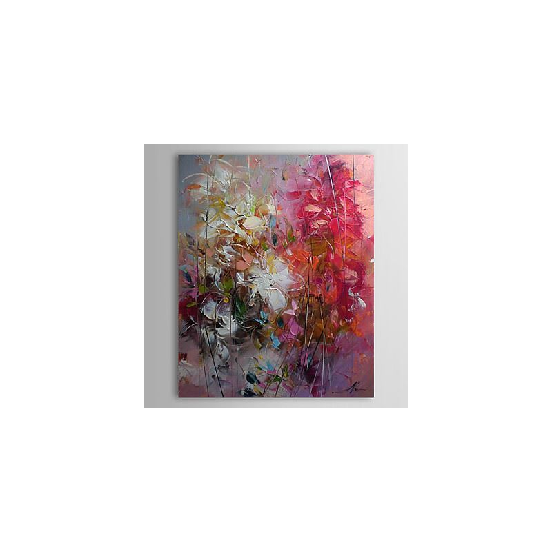 Hand Painted Oil Painting Abstract With Stretched Frame 1303-AB0415