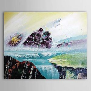 Hand Painted Oil Painting Abstract Landscape 1303-AB0320