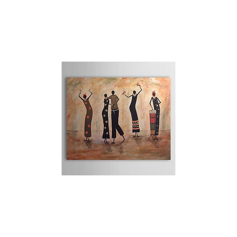 Hand Painted Oil Painting Abstract People 1303-AB0335