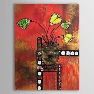 Hand Painted Oil Painting Abstract Still Life 1303-AB0378