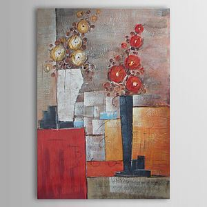 Hand Painted Oil Painting Abstract Still Life 1303-AB0390