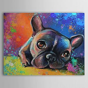Hand Painted Oil Painting Animal 1304-AN0068