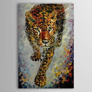 Hand Painted Oil Painting Animal Tiger 1304-AN0067