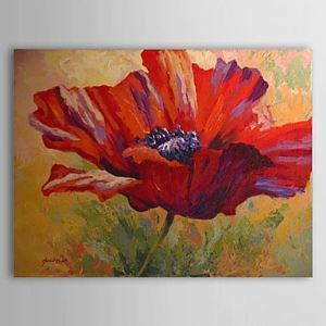 Hand Painted Oil Painting Floral 1303-FL0080