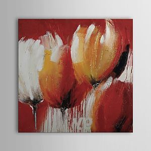 Hand Painted Oil Painting Floral 1303-FL74