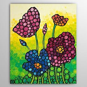 Hand Painted Oil Painting Floral 1305-FL0136