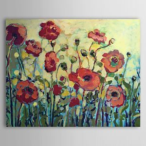 Hand Painted Oil Painting Floral 1305-FL0137