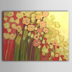 Hand Painted Oil Painting Floral Bloom 1305-FL0132