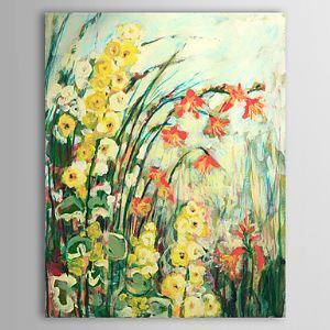 Hand Painted Oil Painting Floral Garden 1305-FL0133