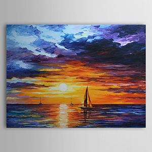 Hand Painted Oil Painting Landscape 1303-LS236