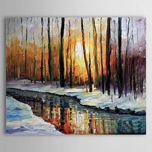 Hand Painted Oil Painting Landscape 1304-LS0278