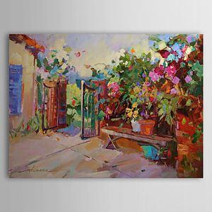 Hand Painted Oil Painting Landscape Floral 1303-LS0262