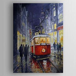 Hand Painted Oil Painting Landscape Train 1303-LS0254