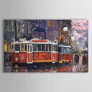 Hand Painted Oil Painting Landscape Transportation 1303-LS0264