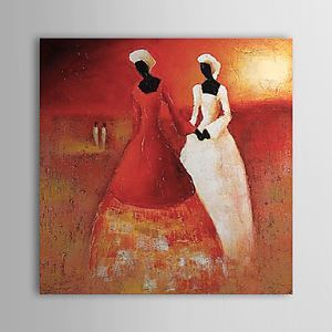 Hand Painted Oil Painting People 1323-PE0258
