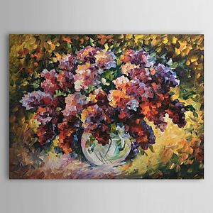 Hand Painted Oil Painting Still Life Floral 1303-SL0049