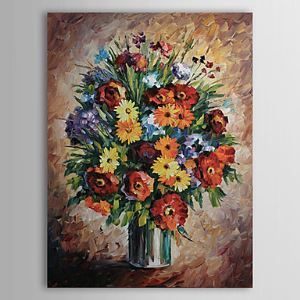 Hand Painted Oil Painting Still Life Floral 1303-SL0050