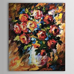 Hand Painted Oil Painting Still Life Floral 1303-SL0051