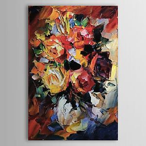 Hand Painted Oil Painting Still Life Floral 1303-SL0053