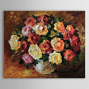 Hand Painted Oil Painting Still Life Floral 1303-SL0054
