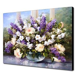 Hand Painted Oil Painting Still Life Floral 1303-SL0074