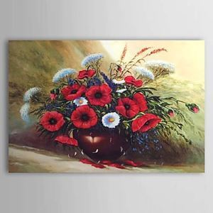 Hand Painted Oil Painting Still Life Floral 1303-SL0075