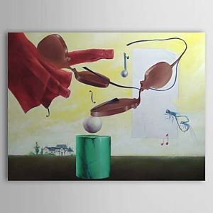 Hand Painted Oil Painting Still Life Musical Instrument 1303-SL0077