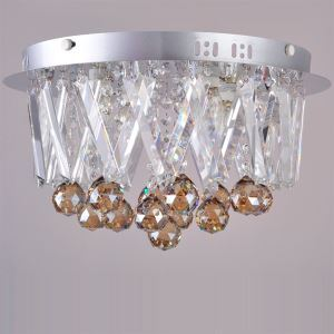K9 Crystal Flush Mount With 4 lights