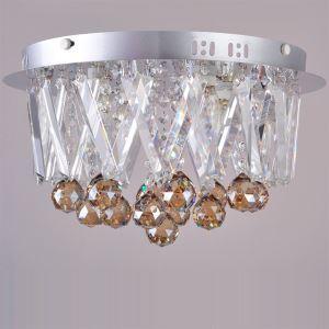 K9 Crystal Flush Mount With 4 lights