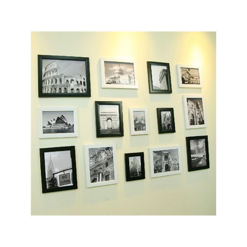Wall Frames Set home decor - picture frames - modern minimalist wood photo wall