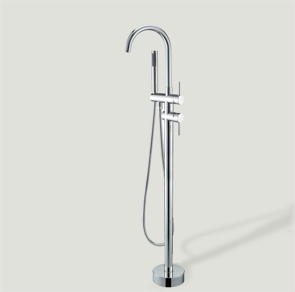 Faucets Bathtub Faucets Floor Standing Tub Faucet With