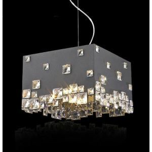 Modern/Contemporary Rectangular Fashion Creative Crystal Pendant Light-5lights