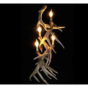 Antler Featured Chandelier with 4 Lights Dining Room Lighting Ideas Living Room Bedroom Lighting