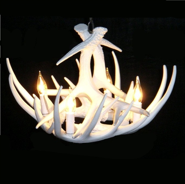 Rustic Cascade Featured Antler Chandelier Antler Lighting
