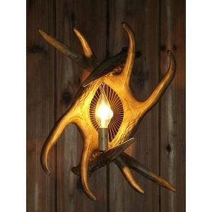 Artistic Antler Featured Wall Light with 1 Light